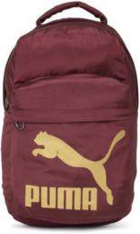 Puma Unisex Laptop Backpack 23 L Backpack  (Maroon)