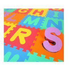Glitter Collection (TM) Kids Puzzle Alphabet Mat, 26 Tiles, 8 mm,Interlocking MAT INTMAT-177