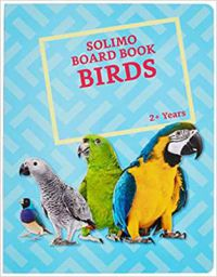 Amazon Brand - Solimo Long Board Book, Birds Hardcover – 1 January 2018