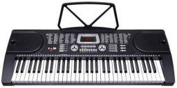 Juarez Octavé JRK661 61-Key Electronic Keyboard Piano with LED Display