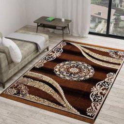 Vram 5D Designer Superfine Exclusive Velvet Carpet