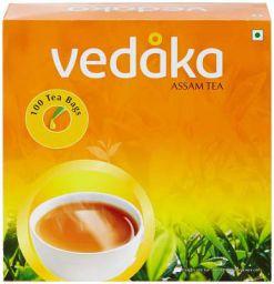 Vedaka Assam Tea 100 Tea Bags Pouch 100 x 2 g