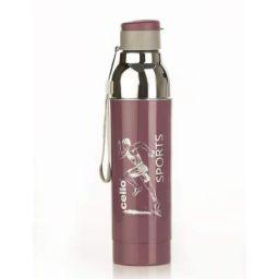 Cello Racer Sports Plastic Bottle 900 ml Purple