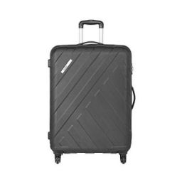 Safari Harbour 65 Cms Polycarbonate Black Check-In TSA Lock 4 wheels Hard Suitcase