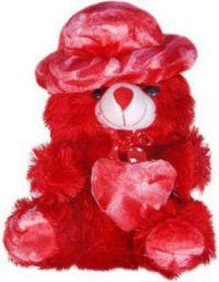 ZOONIO Soft Sponggy Love Heart Teddy Bear - 30 cm (Red)