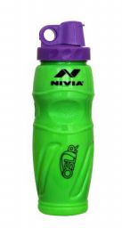Nivia N-715GR Oslar Sipper Sports Bottle, 425 ml (Green)