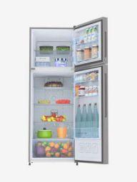 Haier 278L Inverter 3 Star 2020 Double Door 5-in-1 Convertible Refrigerator (Silver, HRF-2984BS-E)