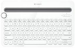 (Renewed) Logitech K480 Multi-Device Bluetooth Keyboard (White)