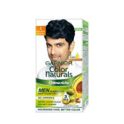 Garnier Color Naturals Men, Natural Black, 30ml+30gm