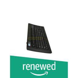 (Renewed) TVS Gold Bharat Gold USB Keyboard (Black)
