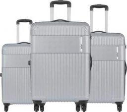 "KILLER Hard Body Set of 3 Luggage - STREAK- Combo Set (30""+26""+22"") - Silver"