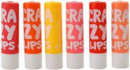 Garry's Crazy Lip Balm Multi  (Pack of 6)