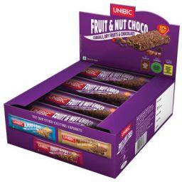 Unibic Snack Bar Fruit & Nut Choco, 12 x 30 g