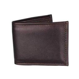 Generic Genuine Leather Wallet/Purse for Men Black Color