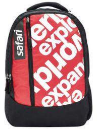 SAFARI 23.5 Ltrs Black Casual/School/College Backpack (JOURNEY19CBBLK)