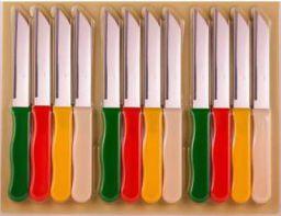 zaro international Multipurpose 12 set knives Steel Knife Set  (Pack of 12)