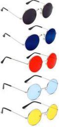 Elligator UV Protection Round Sunglasses (54)  (Multicolor)