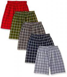T2F Boy's Regular fit Cotton Shorts
