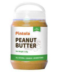 Pintola All Natural Peanut Butter (Crunchy) (2.5 kg)
