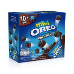 Oreo Mini Chocolate Sandwich Biscuit 10 Mini Bag ( 10 X 23g ) Box, 230g