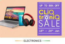 TataCliq Cliq Troniq Sale: Up to 80% Off + Extra 10% Off on ICICI
