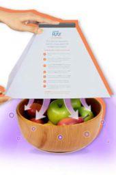 Caresmith RAY UV Sterilizer Box | UV-C LEDs for 99.9% Sterilization in 6 Minutes | UV sterilizer Box | UV Light Barcode Scanner