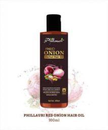 phillauri Red Onion Black Seed 100ml Hair Oil (100 ml)