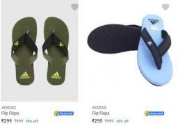 Adidas Flip Flops Upto 71% Off