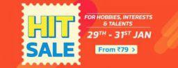 Flipkart HIT sale: Offers on Hobbies, Interests & Talents