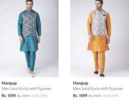Hangup Kurta Sets Flat 80% Off