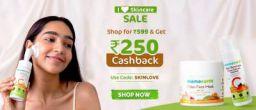Mamaearth I Love Skincare Sale: Rs.250 Cashback on Rs.599