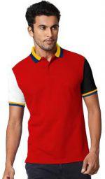 Fenoix Men's Polo Neck Cotton Tshirts