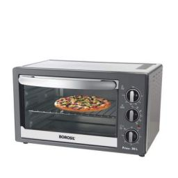 (Renewed) Borosil Prima 30 L OTG, With Motorised Rotisserie And Convection, 1500 W, 6 Stage Heating Function, Silver