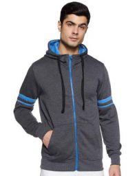 Amazon Brand - Symbol Men Hooded Sweatshirt