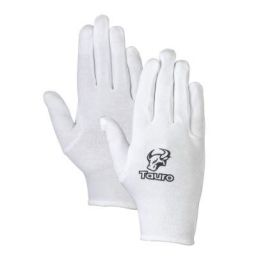 TAURO Cotton Zing Inner Gloves (White)