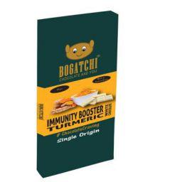 BOGATCHI Healthy Turmeric Milk White Chocolate Bar, Pure, 80g