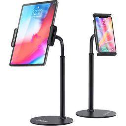 Tukzer T11 Tablet Stand, 360° Swivel Tablet & Phone Holders