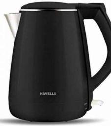 Havells 1500 W (AQUA PLUS) Electric Kettle (1.2 L, Black)