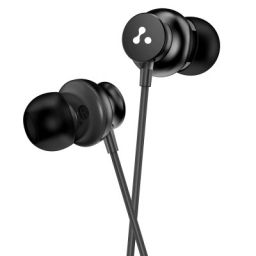 Ambrane Stringz 38 Wired Earphones with Mic, Powerful HD Sound with High Bass