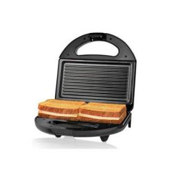 (Renewed) Nova NSG 2441 750-Watt 2 Slice Sandwich Maker (Black)