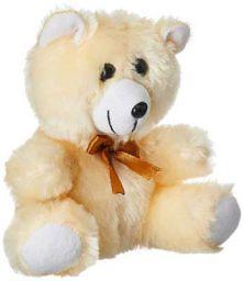 Webby Beige Soft Teddy Bear Stuffed Toy, 18cm
