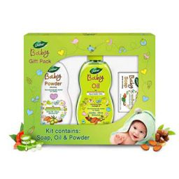 Dabur Baby Gift Pack (3 pieces) - Daily baby care essentials with No Harmful Chemicals