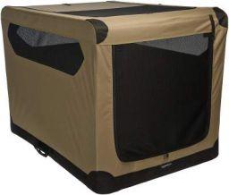 AmazonBasics Portable Folding Soft Dog Travel Crate Kennel - 31 x 31 x 42 Inches