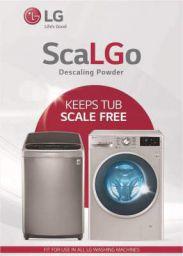 Descaler LG ScaLGo Descaling Powder for Washing Machines 100 g (Pack of 5)