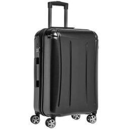 AmazonBasics Oxford Expandable Spinner Luggage Suitcase with TSA Lock - 28 Inch
