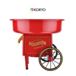Koryo Candy Floss Maker KCC5018CR Carnival Design (Red)