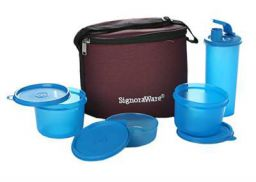 Signoraware Combo Medium Executive Lunch with Bag