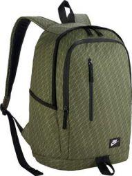 Nike 25 Ltrs Legion Green/Black/White School Backpack (BA5231-331)