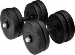 Growth Up Best PVC adjustable dumbbell for home exercise Adjustable Dumbbell (10 kg)