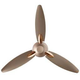(Renewed) Usha Bloom Daffodil Goodbye Dust Ceiling Fan 1250mm, Sparkle Golden and Brown